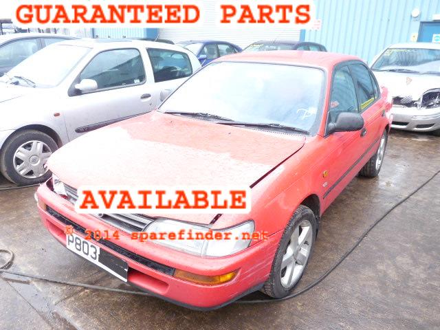1996 TOYOTA COROLLA CD    Parts