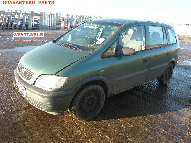 VAUXHALL ZAFIRA breakers, ZAFIRA 16V Parts