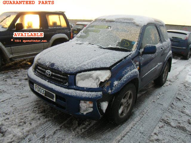 2003 TOYOTA RAV4 NRG    Parts