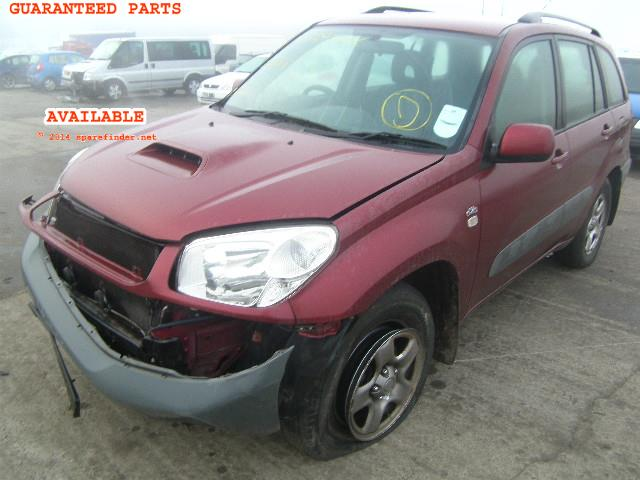 2005 TOYOTA RAV4 XT2 D    Parts