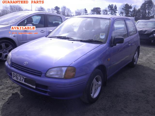 1997 TOYOTA STARLET SPORTIF    Parts