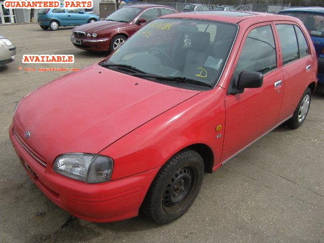 1998 TOYOTA STARLET GL    Parts