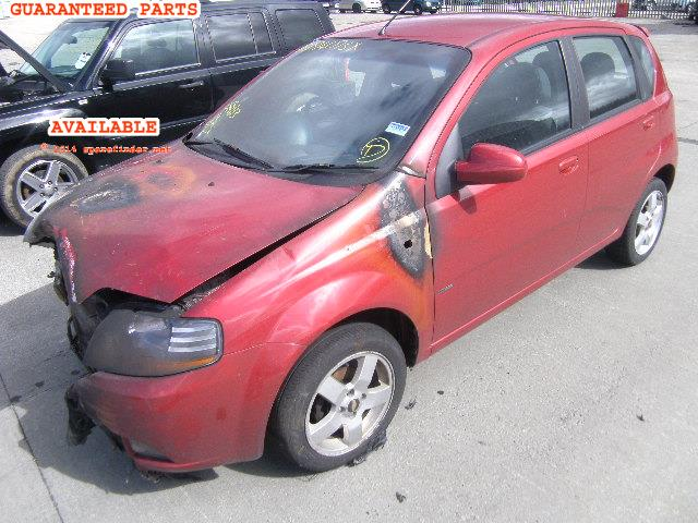 2005 CHEVROLET KALOS SX    Parts