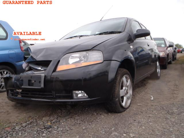 2006 CHEVROLET KALOS SX    Parts
