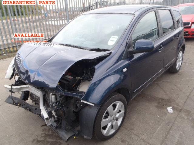 2008 NISSAN NOTE TEKNA    Parts