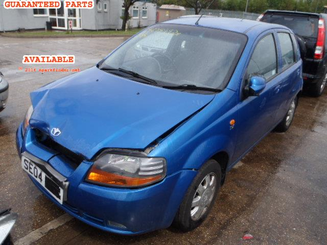 2004 DAEWOO KALOS SX 1.4    Parts