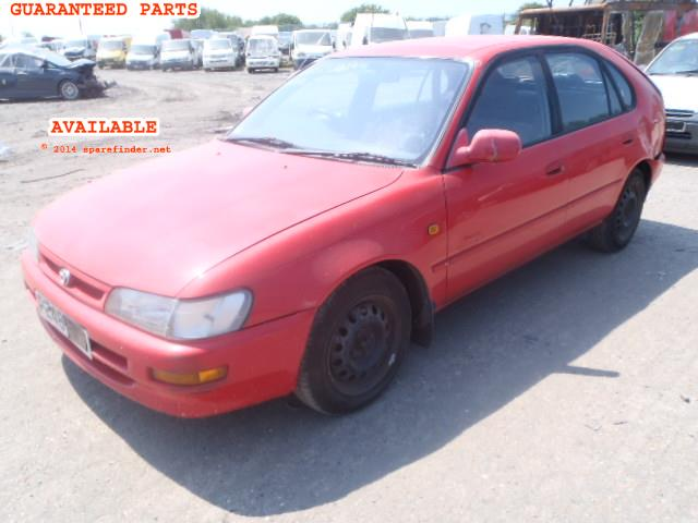 TOYOTA COROLLA breakers, COROLLA SPORT Parts