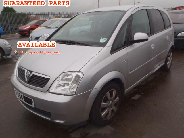 2005 VAUXHALL MERIVA BREEZE    Parts