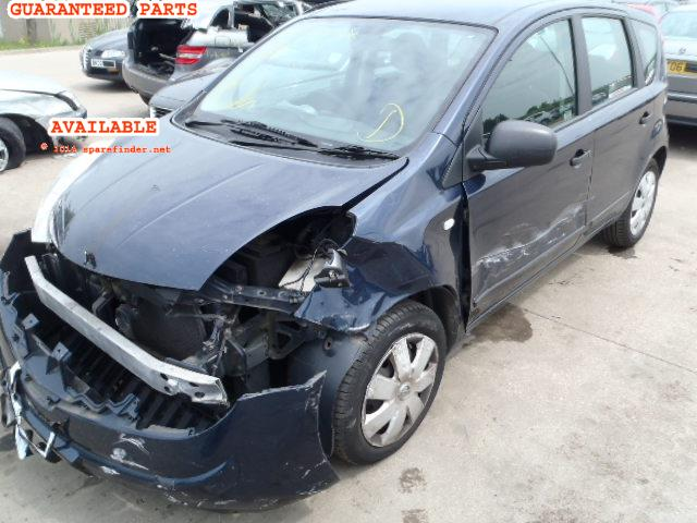 2007 NISSAN NOTE VISIA    Parts