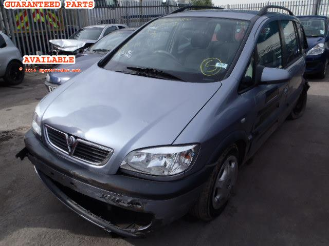 2003 VAUXHALL ZAFIRA DESIGN    Parts