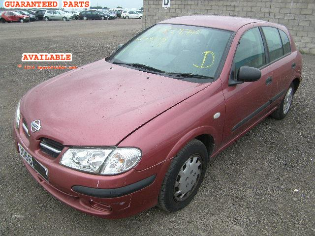 NISSAN ALMERA breakers, ALMERA E Parts