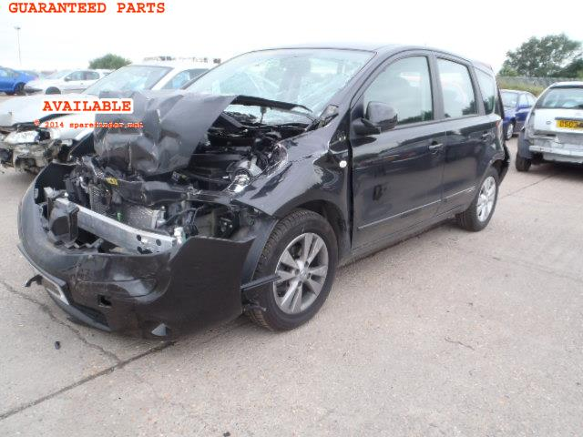 2009 NISSAN NOTE ACENT    Parts