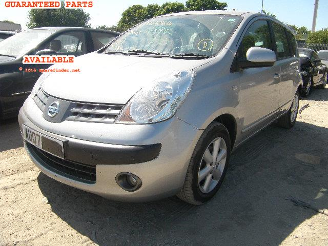 NISSAN NOTE breakers, NOTE SE Parts