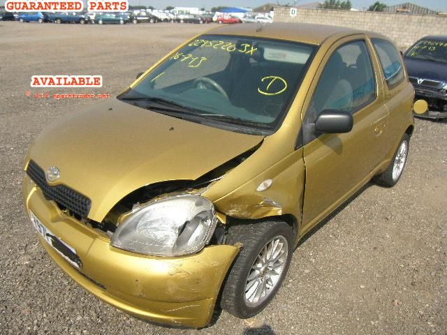 2001 TOYOTA YARIS GS    Parts