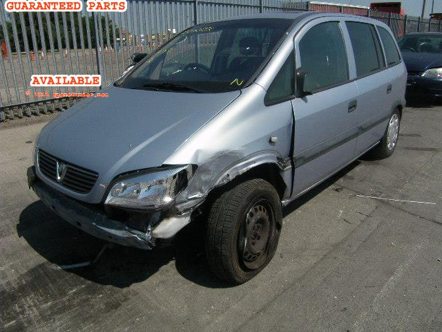 2003 VAUXHALL ZAFIRA CLUB    Parts