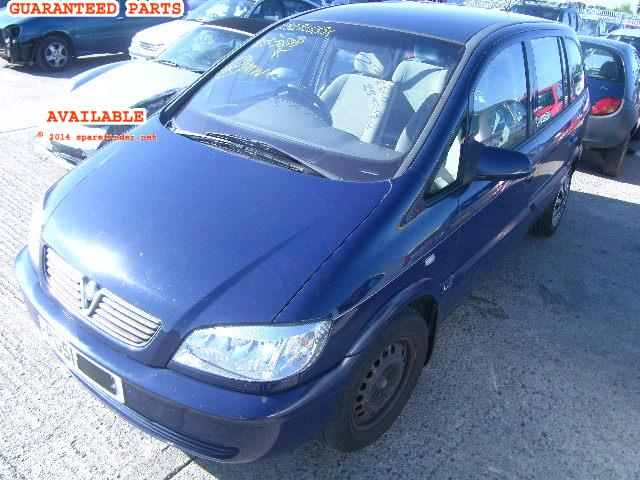 2001 VAUXHALL ZAFIRA     Parts