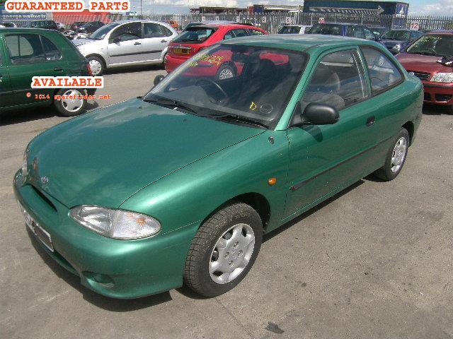 X on 1997 Hyundai Accent Parts