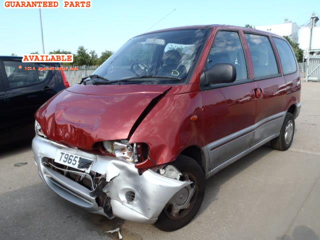 NISSAN SERENA breakers, SERENA 2.3 Parts