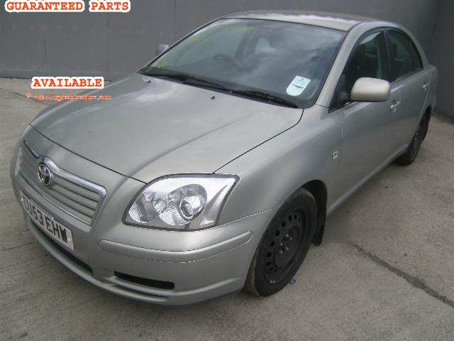 2003 TOYOTA AVENSIS T2    Parts