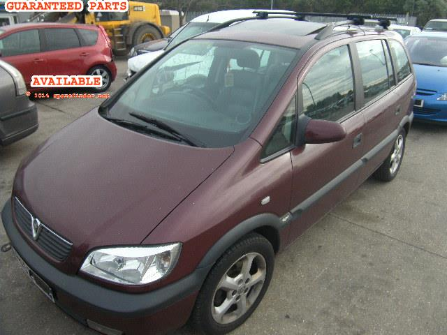 2002 VAUXHALL ZAFIRA     Parts