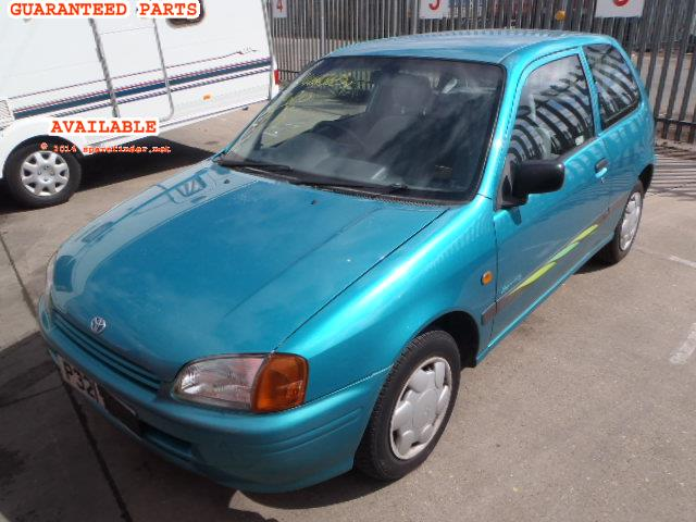 1996 TOYOTA STARLET SPORTIF    Parts