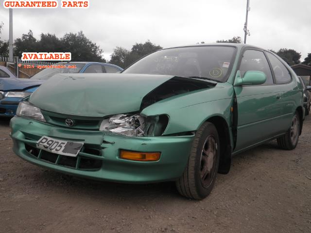 TOYOTA COROLLA breakers, COROLLA KU Parts