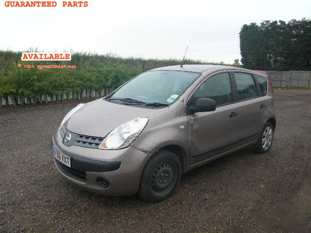 2006 NISSAN NOTE S DCI    Parts