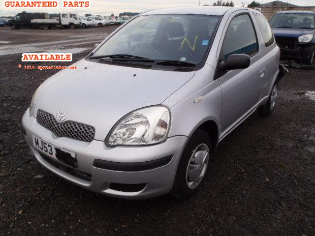 2003 TOYOTA YARIS T2 S    Parts