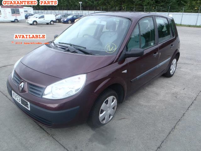 RENAULT SCENIC breakers, SCENIC AUTO Parts