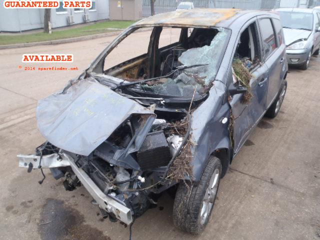 2009 NISSAN NOTE TEKNA    Parts