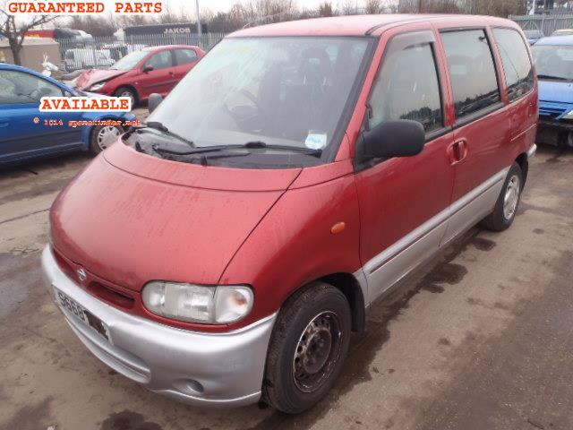 NISSAN SERENA breakers, SERENA EXCURSION Parts