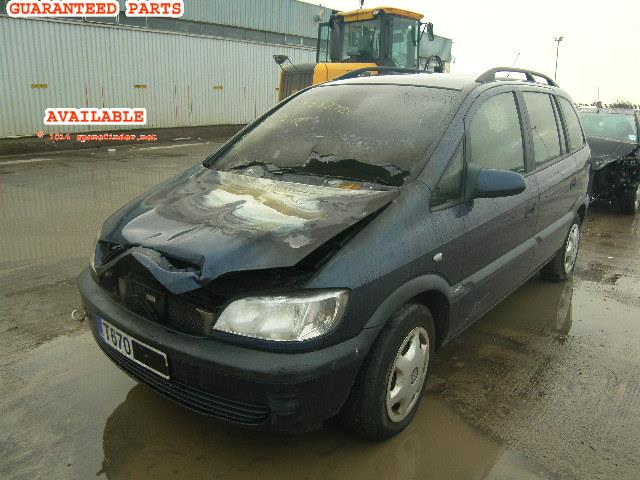 VAUXHALL ZAFIRA breakers, ZAFIRA COMFORT Parts
